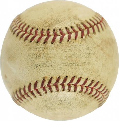 President John F. Kennedy Single Signed Baseball 1961 First Pitch JFK PSA DNA