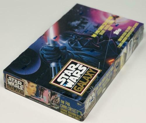 1993 Topps Star Wars Galaxy Series 1 Retail Box