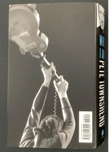 Pete Townshend Signed Book Who I Am HCB The Who Rock Guitar Autograph HOF JSA
