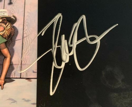 """Gun n Roses Signed """"Appetite"""" LP Vinyl Record Inner Sleeve PSA Slash Duff Adler"""