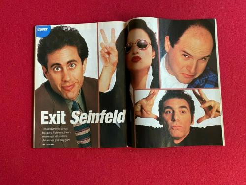 "1998, SEINFELD, ""People"" Magazine (No Label)  Scarce / Vintage"
