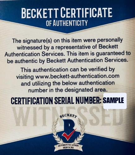 Daisy Ridley Adam Driver Signed Star Wars 11x14 Photo Red Blue Beckett Witness
