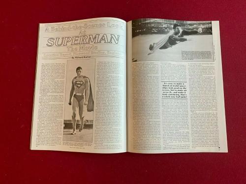 "1979, SUPERMAN, ""FANTASTIC FILMS"" Magazine (No Label) Star Wars"
