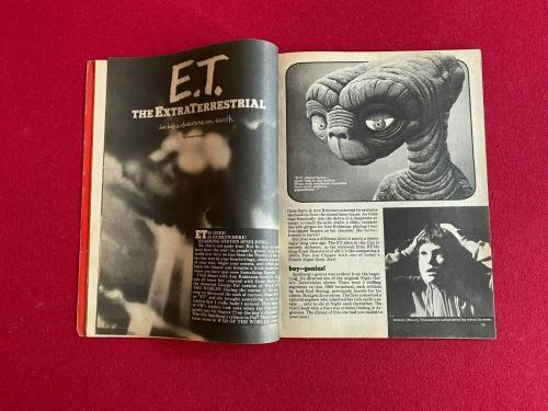 """1982, E.T., """"MONSTERS"""" Magazine (No Label) Scarce / Vintage"""