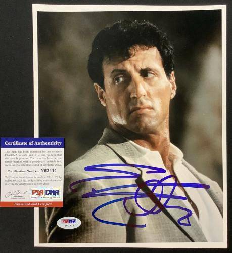 Sylvester Stallone Signed Photo 8x10 Specialist Actor Autograph Rocky PSA/DNA