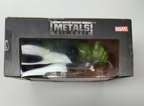 Stan Lee & Lou Ferrigno Signed Incredible Hulk Hulk Marvel Avengers Die Cast Toy