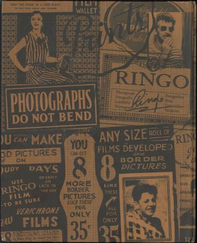 Ringo Starr 2015 Photograph Hardcover Book The Beatles