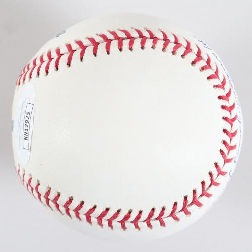 Marilyn C. Jones Signed Baseball Battle Creek Belles (Hall of Fame) – COA JSA