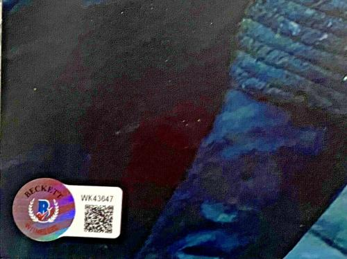 Adam Driver Daisy Ridley Signed 11x14 Star Wars Photo Rey Beckett BAS Witnessed