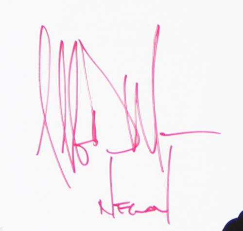 Jeffrey Dean Morgan Signed The Walking Dead Unframed 11×17 Poster – Season 7