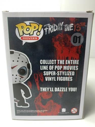 "Ari Lehman Signed Funko Pop ""Friday the 13th"" PSA 8A44790"