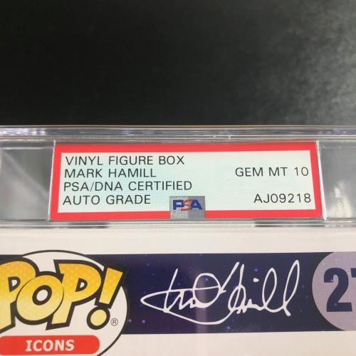Mark Hamill Signed Exclusive Funko Pop PSA/DNA Auto Grade 10 Encapsulated Star W