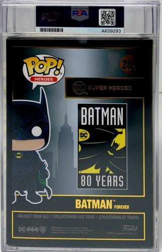 Val Kilmer Signed Batman Funko Pop Batman Forever PSA Slabbed Autograph AK09293