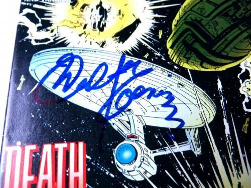 Walter Koenig Signed Autographed Comic Book Star Trek Pavel Chekov JSA QQ36844