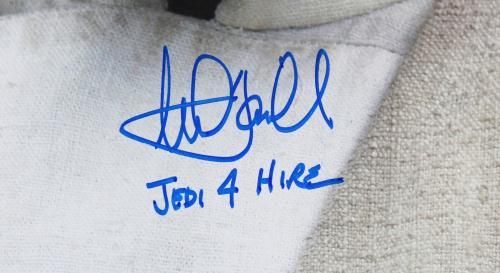 "Mark Hamill Star Wars The Force Awakens ""Jedi 4 Hire"" Signed 16x20 Photo BAS"