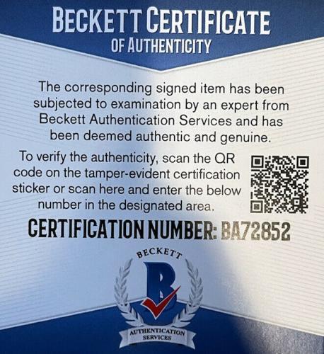 Rick Savage Signed (Def Leppard) 8x10 Photo BECKETT BAS BA72852