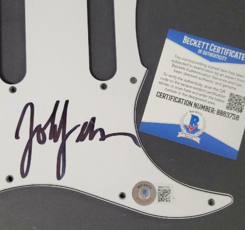 John Feldmann signed Guitar Pickguard Goldfinger Autograph (A) ~ Beckett BAS COA