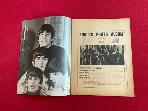 "1964, Ringo Starr, Beatles, ""RINGO'S PHOTO"" Magazine, (No Label) Scarce /Vintage"