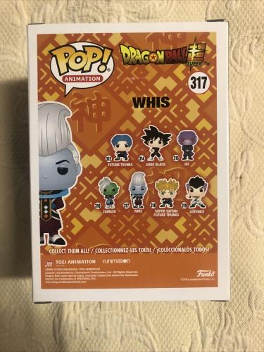 Ian Sinclair Signed Autographed Whis Funko Pop Dragon Ball Z JSA Sticker Only