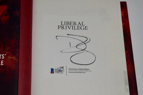Donald Trump Jr Signed Autographed Liberal Privilege Hardcover Book Beckett COA