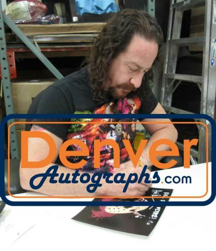 Ari Lehman Autographed Friday The 13th 8x10 Photo Kill For Mother JSA 26215