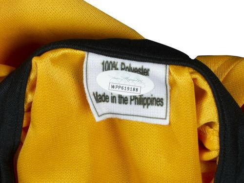William Shatner Signed Captain Kirk Signed Yellow Star Trek Shirt JSA ITP