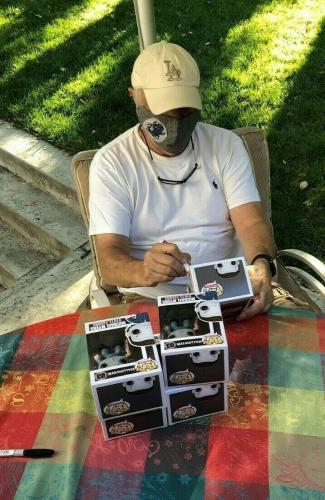 NICK CASTLE signed (HALLOWEEN) Michael Myers Funko Pop #03 BECKETT BAS BB96227