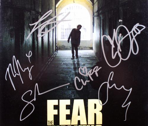 Fear The Walking Dead (6) Nicotero, Domingo, +4 Signed 12x18 Photo BAS #AA03982