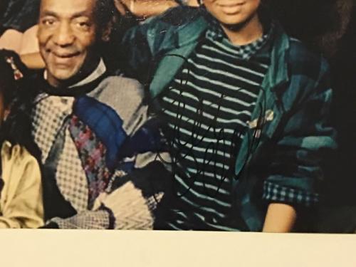 Bill Cosby Signed Cosby Show Cast 8x10 Photo Rare