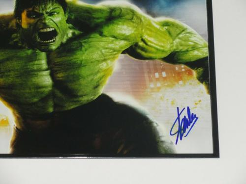 Stan Lee Signed Framed & Matted Incredible Hulk 11x14 Marvel Comics Jsa Coa