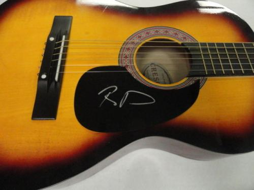 Boyd Tinsley Signed Full Size Sunburst Acoustic Guitar Dave Matthews Band