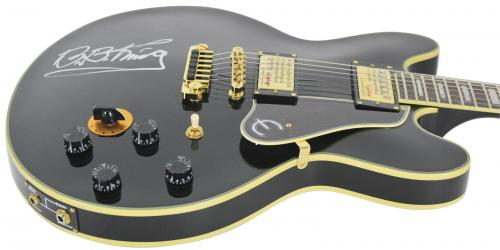 B.B. King Signed Epiphone Lucille Guitar Autographed PSA/DNA #T08139