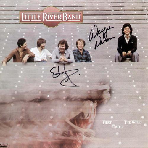 LITTLE RIVER BAND Autographed Signed FRAMED LP Album    AFTAL