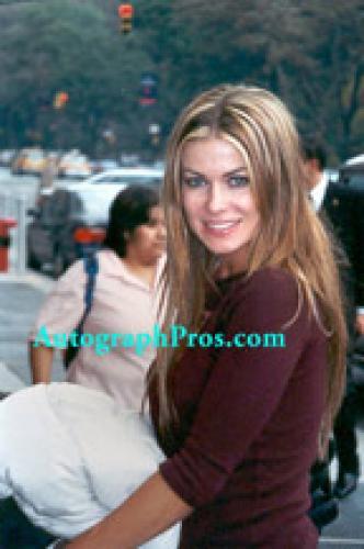 CARMEN ELECTRA Autographed SEXY WET SUIT Signed Photo    AFTAL