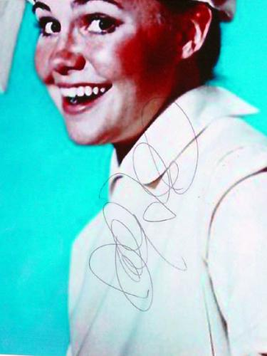 Sally Field Autographed Signed Rare Flying Nun Photo Display AFT AFTAL