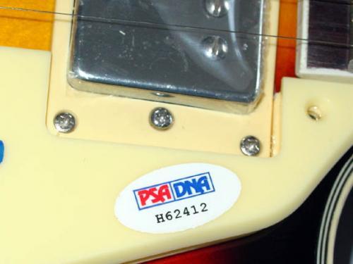 Megadeth James LoMenzo Autographed Signed Guitar PSA/DNA   AFTAL