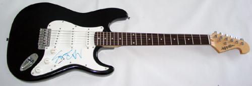Anthrax Ian Scott Autographed Signed Guitar PSA/DNA Certified AF AFTAL