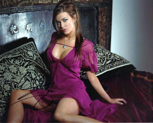 Carmen Electra Autographed Signed Sexy Photo AFTAL