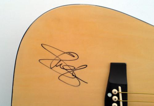 Slash Autographed Guns N Roses Signed Acoustic Guitar UACC RD AFTAL