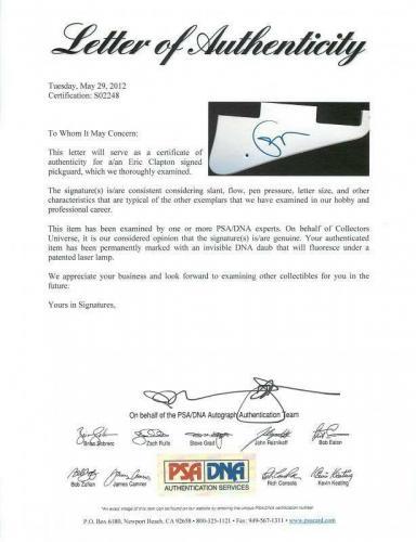 Eric Clapton Signed Electric Guitar Autographed PSA/DNA #S02248