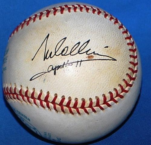 Neil Armstrong Buzz Aldrin Mike Collins Apollo 11 Crew Signed Baseball JSA