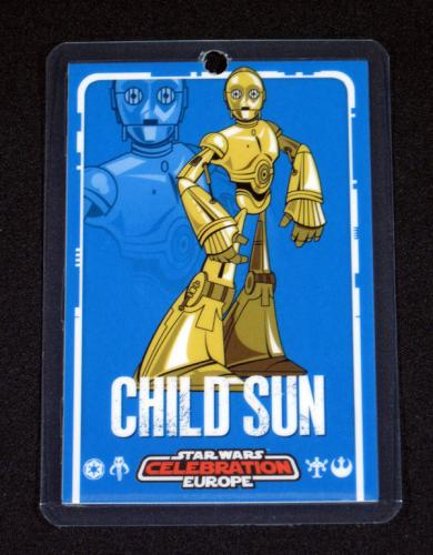 Lot of (10) 2007 Star Wars Celebration Europe Child Sunday Badge ^ C-3PO