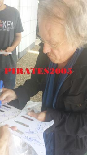 Jefferson Airplane Signed Guitar Paul Kantner Jorma Kaukonen Jack Casady Jsa Coa