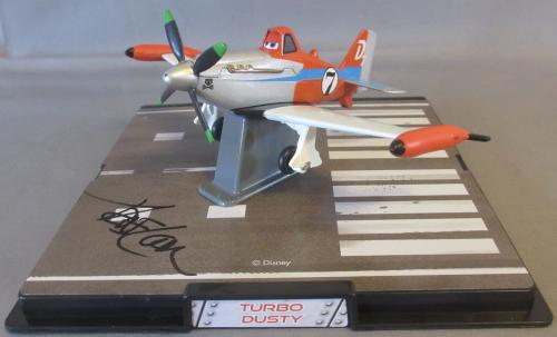 VERY RARE!!! Dane Cook Signed TURBO DUSTY 1:43 Diecast Disney PLANES PSA/DNA