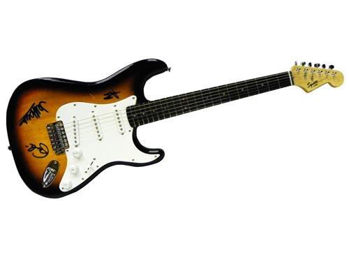 Yardbirds Facsimile Signature   Fender Guitar Eric Clapton Jimmy Page J. Beck