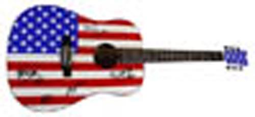 Bruce Springsteen & The E-Street Band Facsimile Signature   Guitar