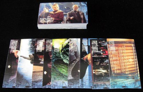 Lot of (10) 1996 Skybox Star Trek First Contact Trading Card Set (60) NM/MT
