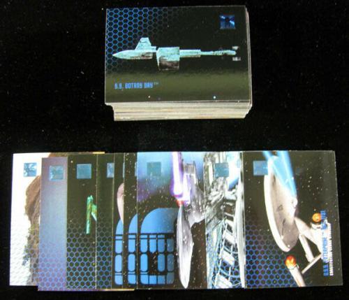 Lot of (5) 1995 Skybox Star Trek 30 Years Phase One Set (100) NM/MT