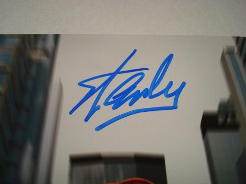 Stan Lee Signed Marvel Spider-Man 8x10 Photo PSA/DNA Autographed #2