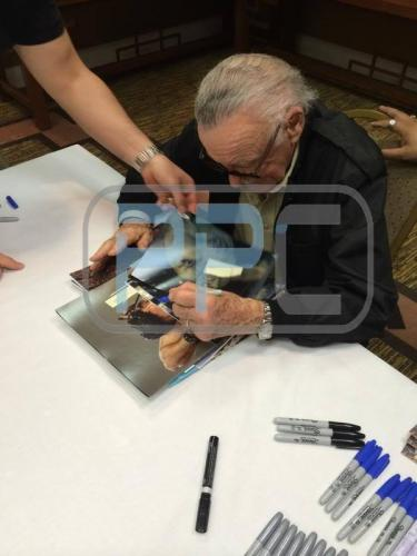 Stan Lee & Mark Ruffalo The Hulk Signed 8X10 Photo PSA/DNA #W25906